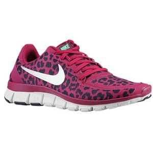 new arrivals c8e1b a9894 Nike Free 5.0 V4 - Women s running or casual shoe lady foot locker pink  black cheetah print  99.99