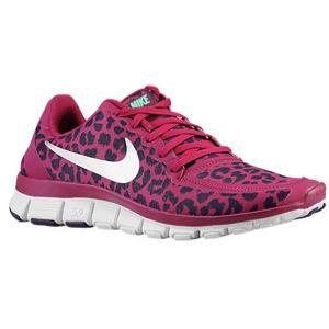 8ff04a8fc841 Nike Free 5.0 V4 - Women s running or casual shoe lady foot locker pink  black cheetah print  99.99