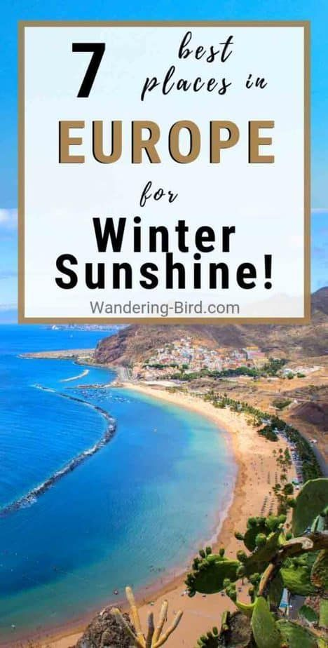 Love travelling Europe in Winter Need some winter sunshine and a chance to get away from the crowds These 7 perfect cities in Europe will give you everything you need fro...