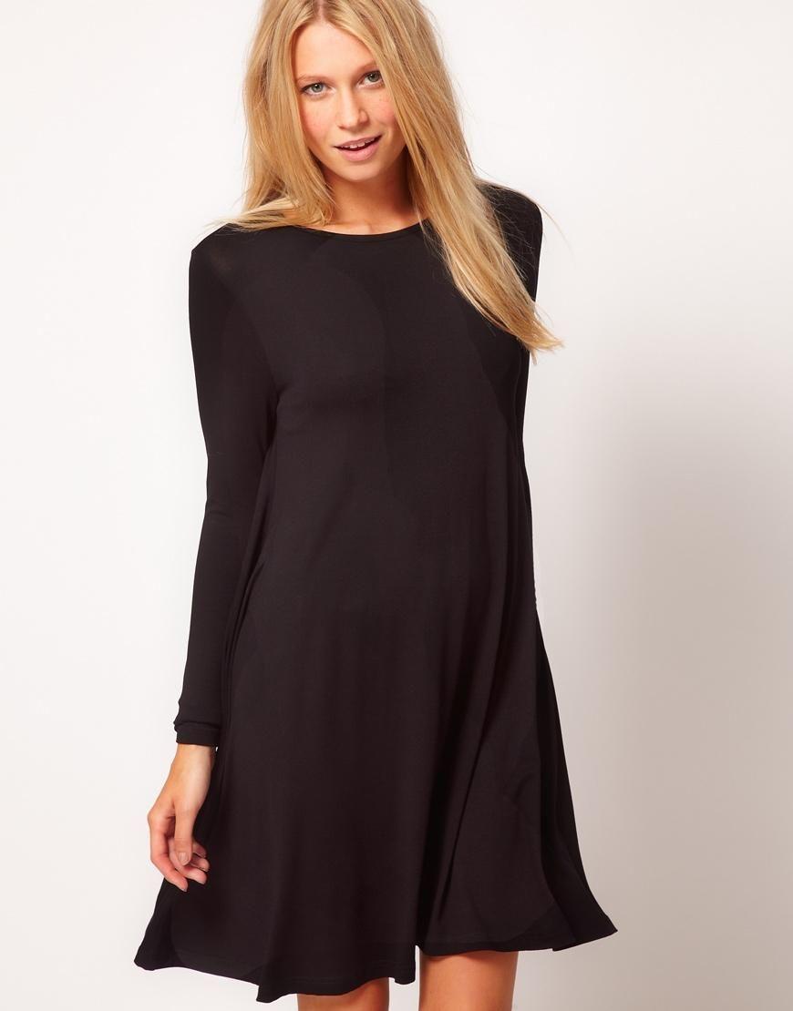 Crossover Collar Dovetail Dress Black Embroidered Dress Elegant Midi Dresses Embroidered Midi Dress [ 1104 x 736 Pixel ]