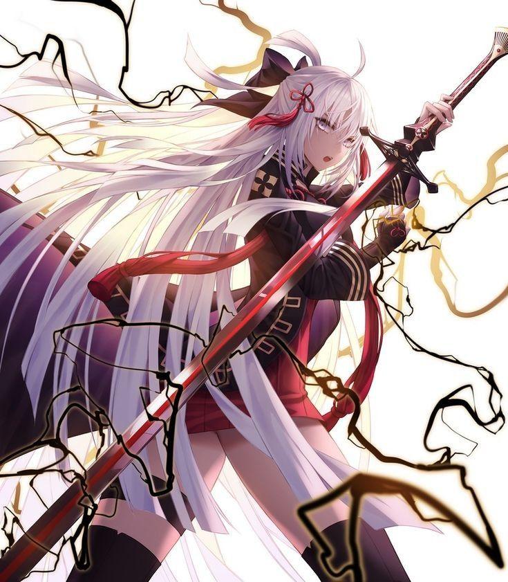 majin okita noble phantasm anime anime images anime art girl