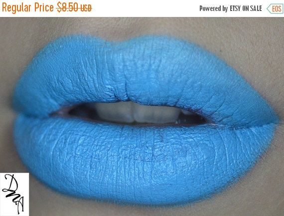 SALE MDW SALE Ice Cold Dna Lipstick Intense Pop of by DNACosmetics $10.19