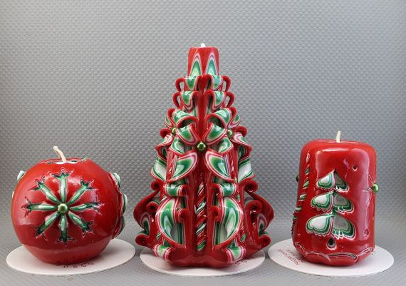 Christmas clearance New Year Christmas candles by NeedHave Всякое
