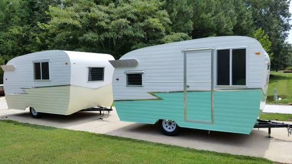 Vintage style vendor campers   Vintage trailers, Vintage ...