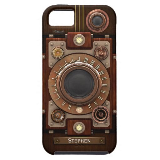 Vintage Steampunk Camera #1C 'Vibe' iPhone 5 Covers
