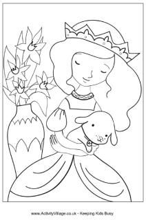 Princess Colouring Pages Princess Coloring Pages Princess