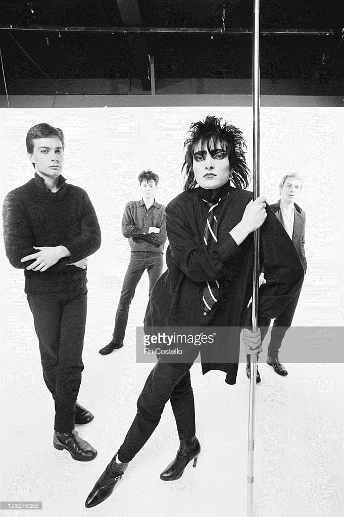 Siouxsie and the Banshees (guitarist John McKay, drummer Kenny ...