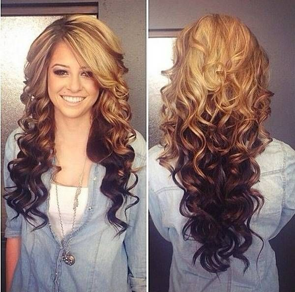 Ombre Hairstyles Alluring Ombre Hairstyles Trends 2014 2015 For Long Ombre Hair  B E A U T Y