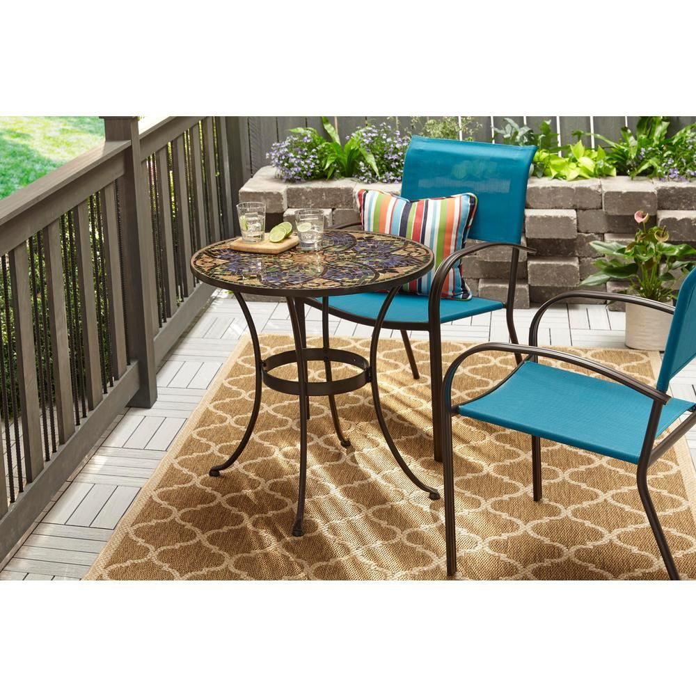 Remarkable Hampton Bay Mix And Match Stackable Sling Outdoor Dining Andrewgaddart Wooden Chair Designs For Living Room Andrewgaddartcom