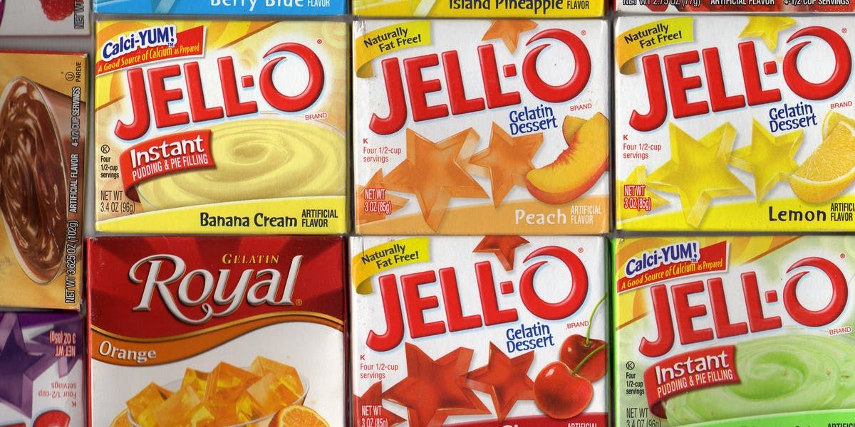 The Fda Just Banned 7 Chemicals Used As Artificial Flavors In Common Foods Baking Tips Jam And Jelly Jello Gelatin