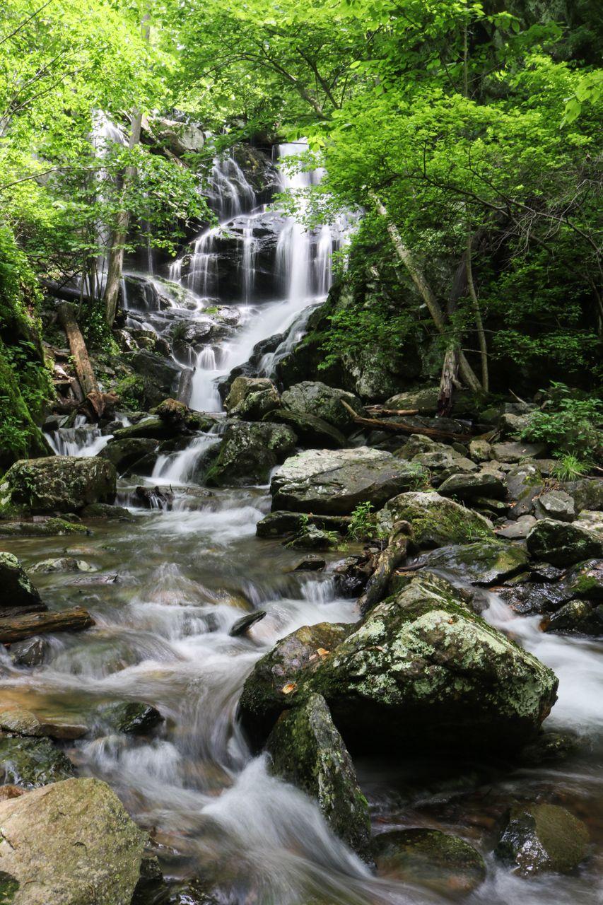 Virginia Shenandoah National Park Waterfall