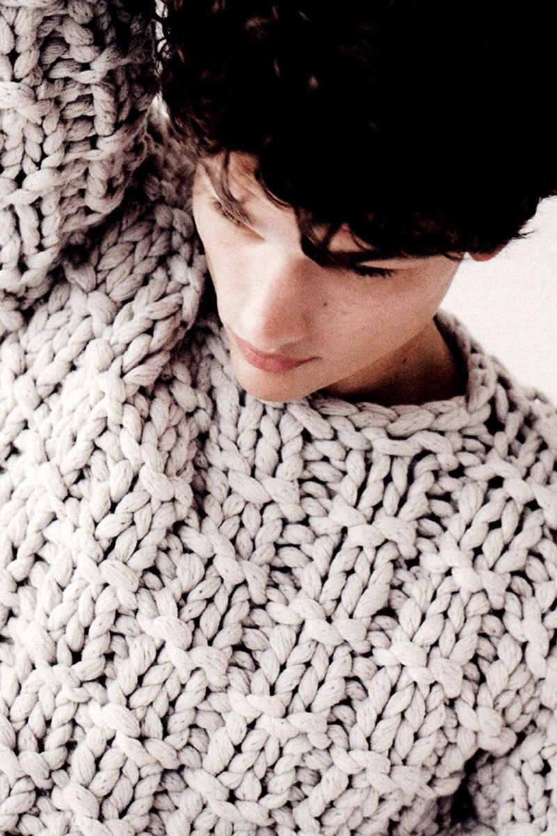 Simon Nessman byBilly Kidd for Details Magazine October 2012 Issue    That sweater!
