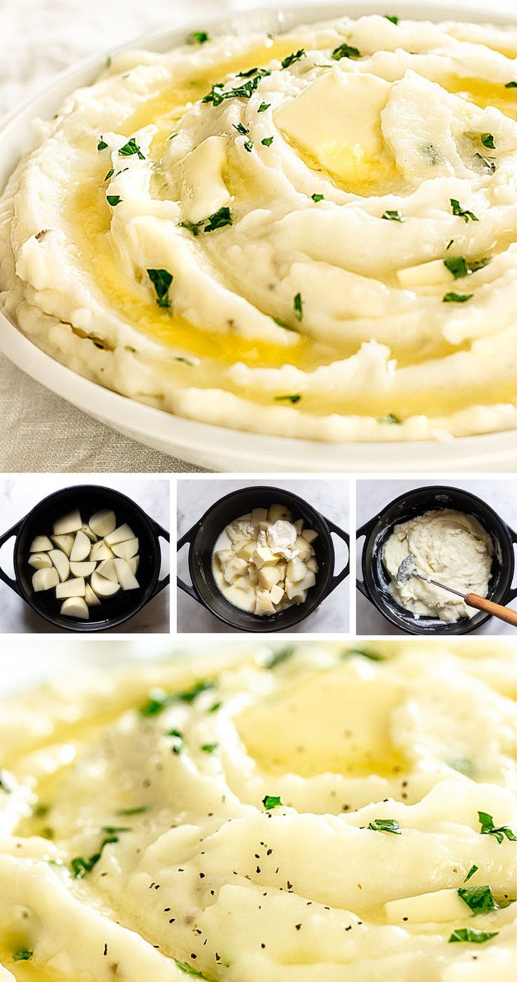Creamy Mashed Potatoes with Sour Cream Recipe