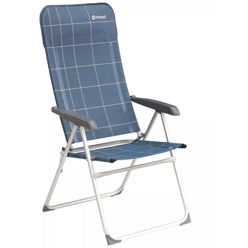 Outwell Chaise Pliante Kenora Bleu 58 X 65 X 114 Cm 410071 Beach Chair With Canopy Folding Chair Outdoor Furniture