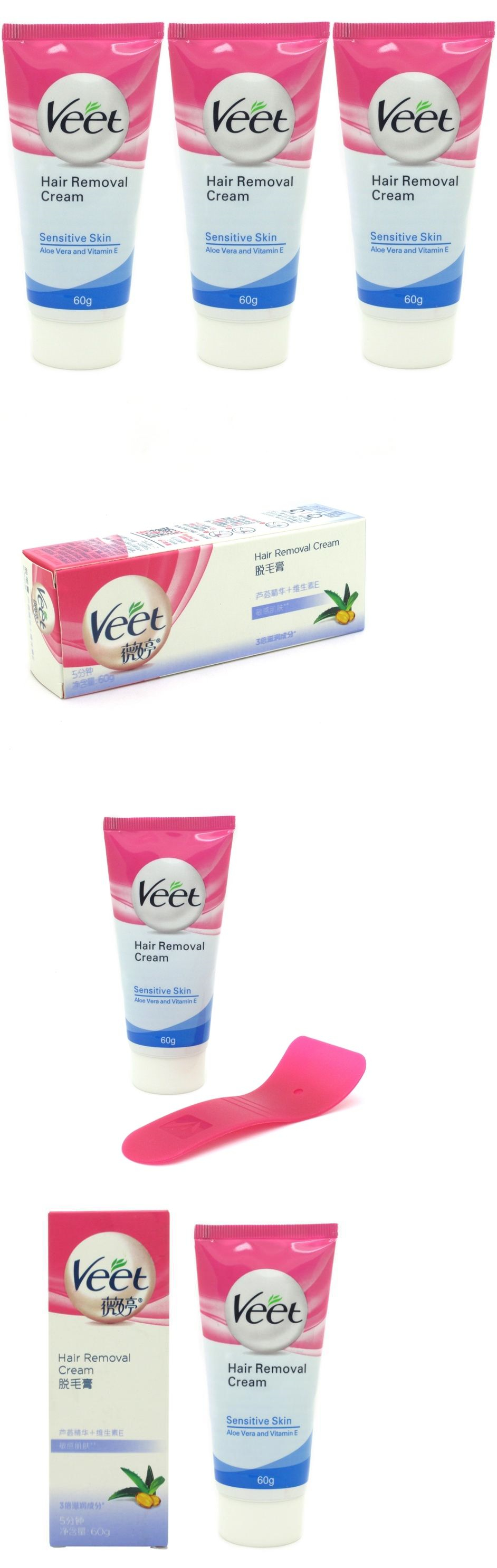Hair Removal Creams and Sprays  Units  Veet Aloe Permanent Fast
