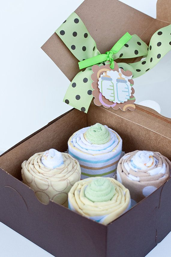 Great ON SALE  Gender Neutral Baby Shower Gift, Receiving Blanket Cupcakes On  Etsy, $28.99