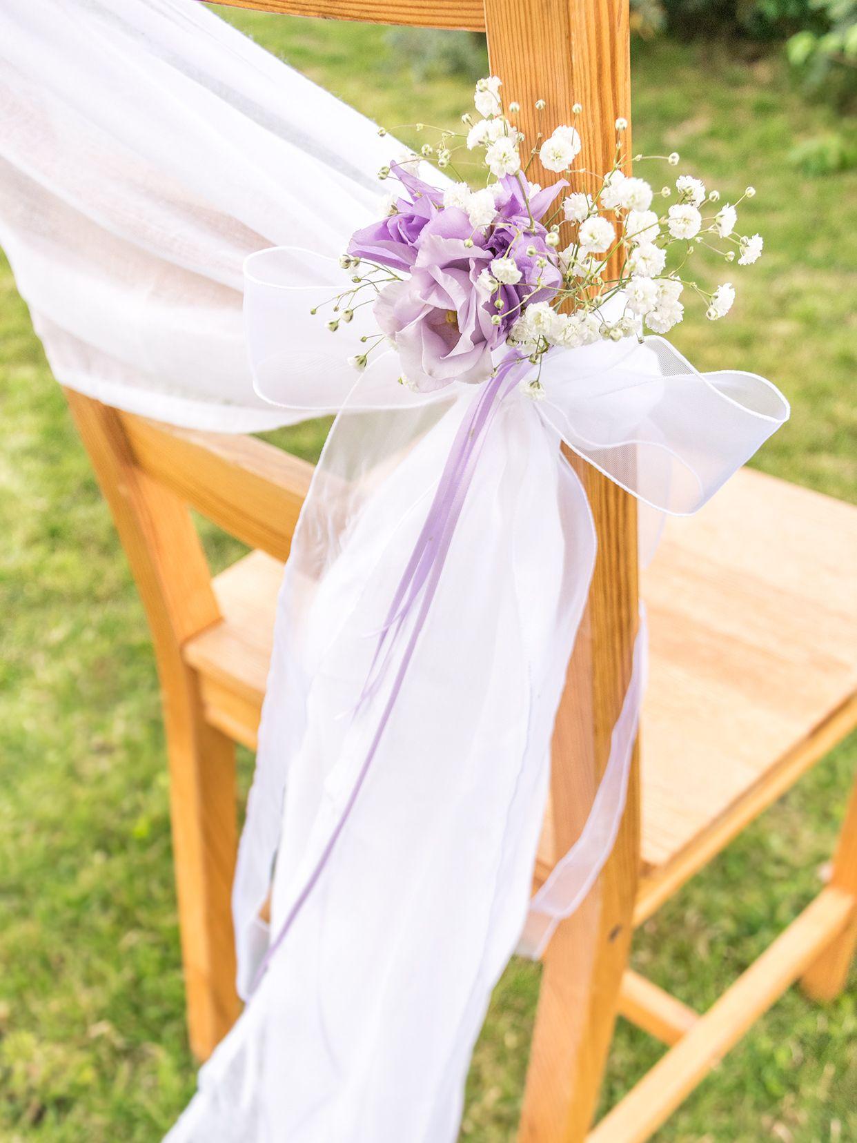 Stuhl Deko Hochzeit stuhldeko für die hochzeit einfach selbermachen magazin