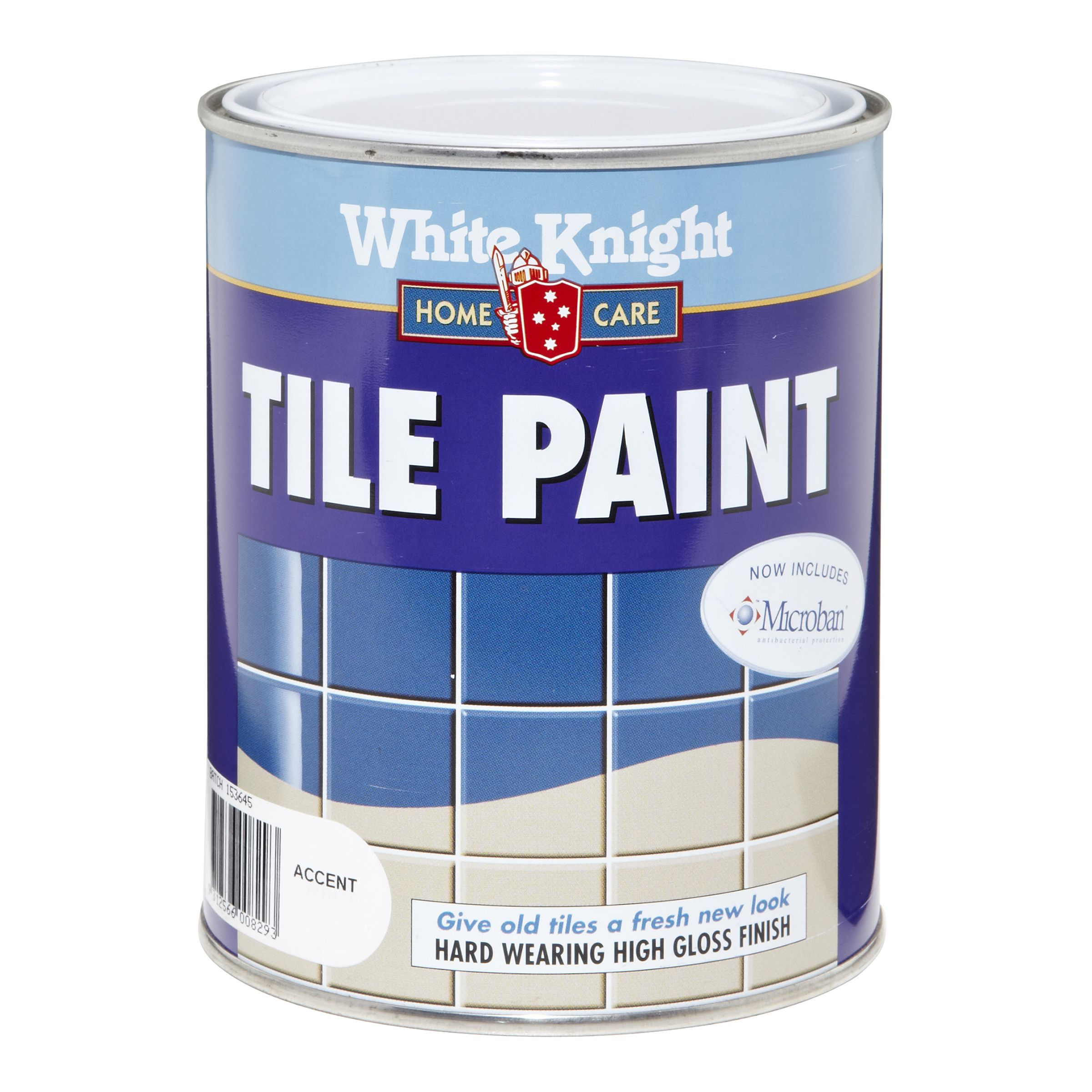 Tile Paint White Knight 1l Accent Bunnings Warehouse Diy Tiles
