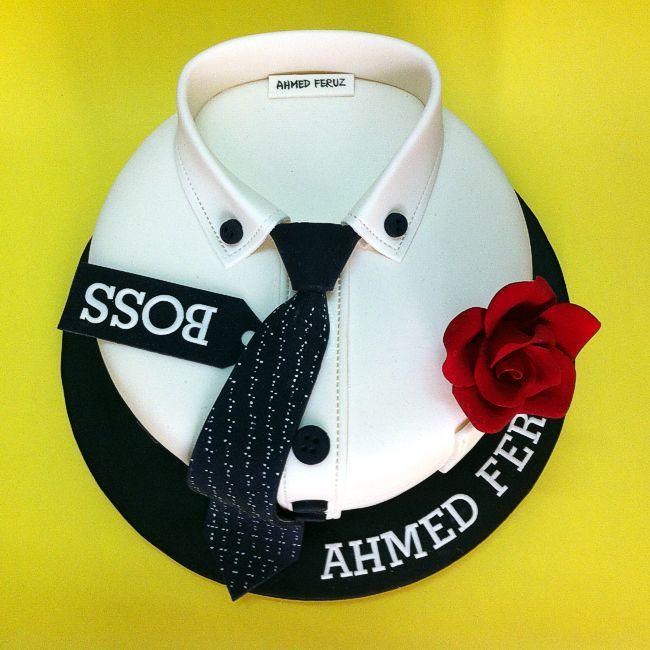 Hugo Boss Shirt Cake Cool Cakes Pinterest Boss Shirts - Birthday cake shirt