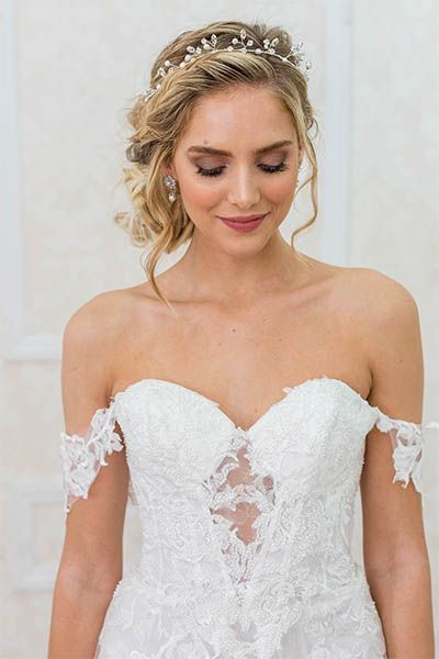 Little Things Borrowed Bridal Rental- Designer Wedding Headpieces Veils