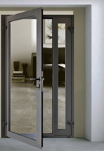 Aluminum Casement Exterior Door Remodel Ideas