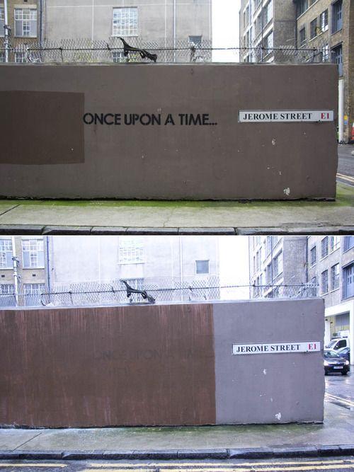 Once upon a time... #streetart #graffiti
