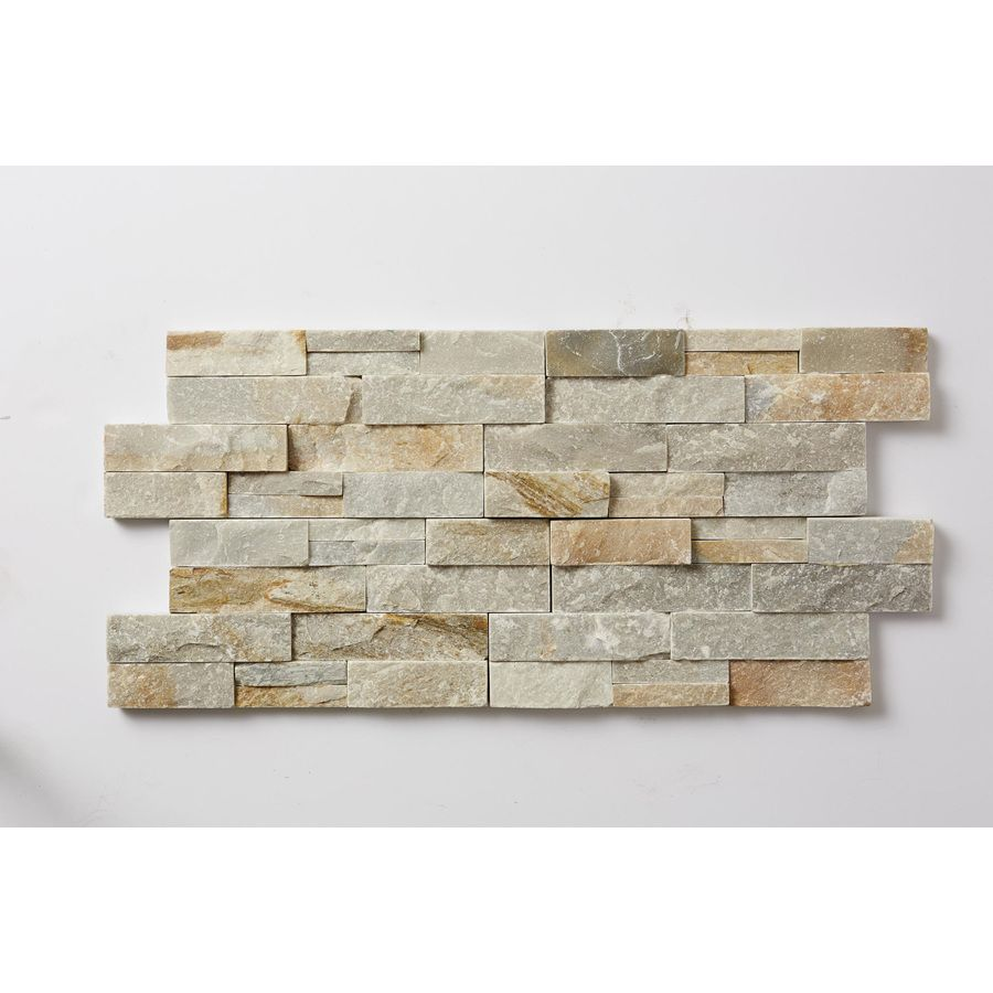 Ledgestone Kitchen Backsplash: Shop Desert Quartz Ledgestone Wall Tile (Common: 6-in X 12