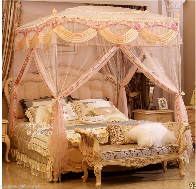 lovers gift Europe style mosquito net bed net Anti malaria bed net ...