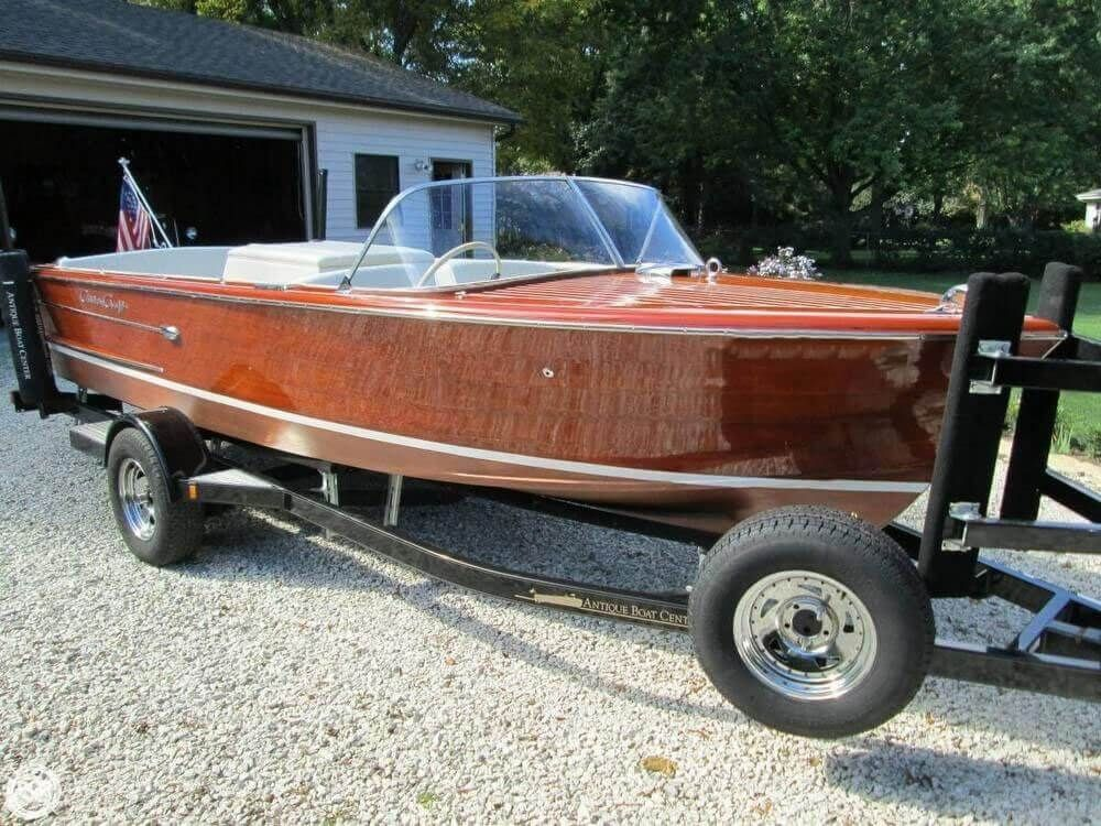 Used 1961 Chris Craft Continental Muskego Wi 53150 Boattrader Com Runabout Boat Wooden Boats Boat Building