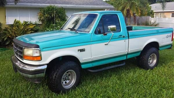 1995 Ford F150 Xlt 4x4 Short Bed Pick Up Truck Ford Trucks 1995