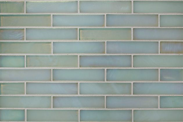 Gl Mosaics Tiles Oceanside Gltile Blue Collection Polar