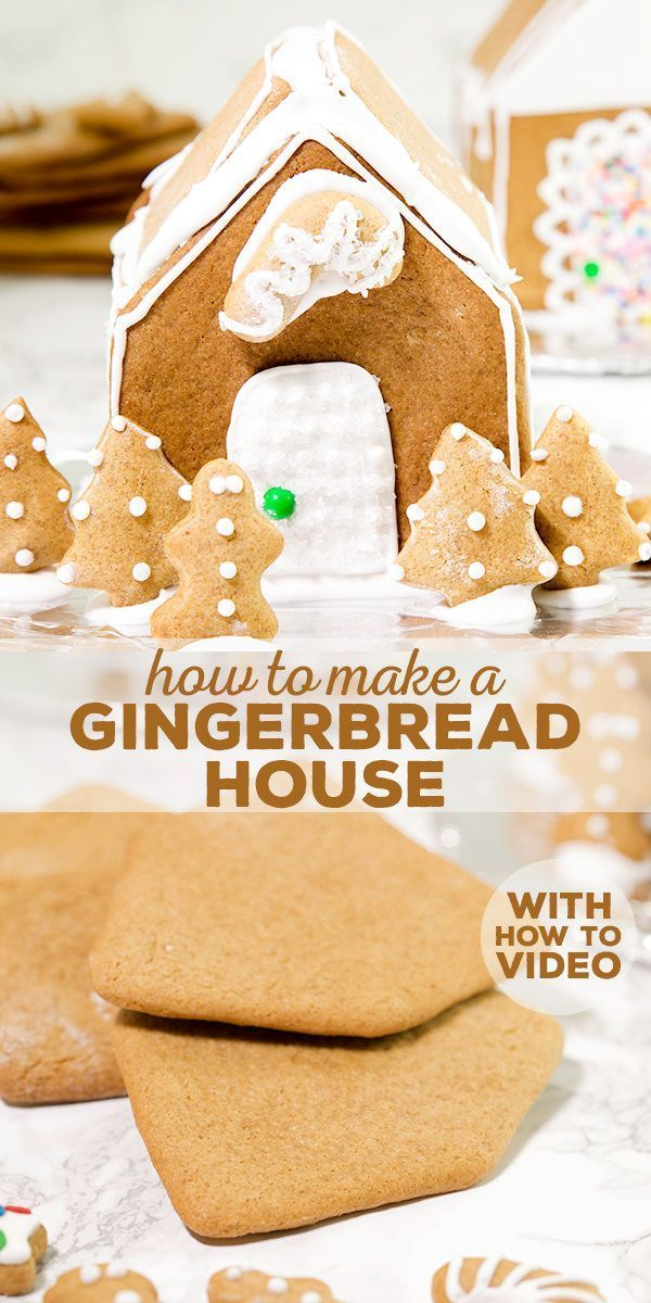 How To Make a Gluten Free Gingerbread House Recipe