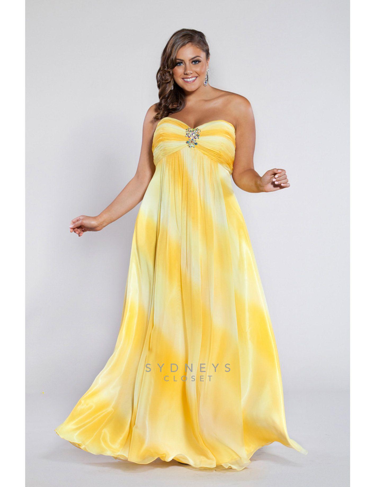 Diagonal ombre gorgeous bridal dresses u formal gowns pinterest