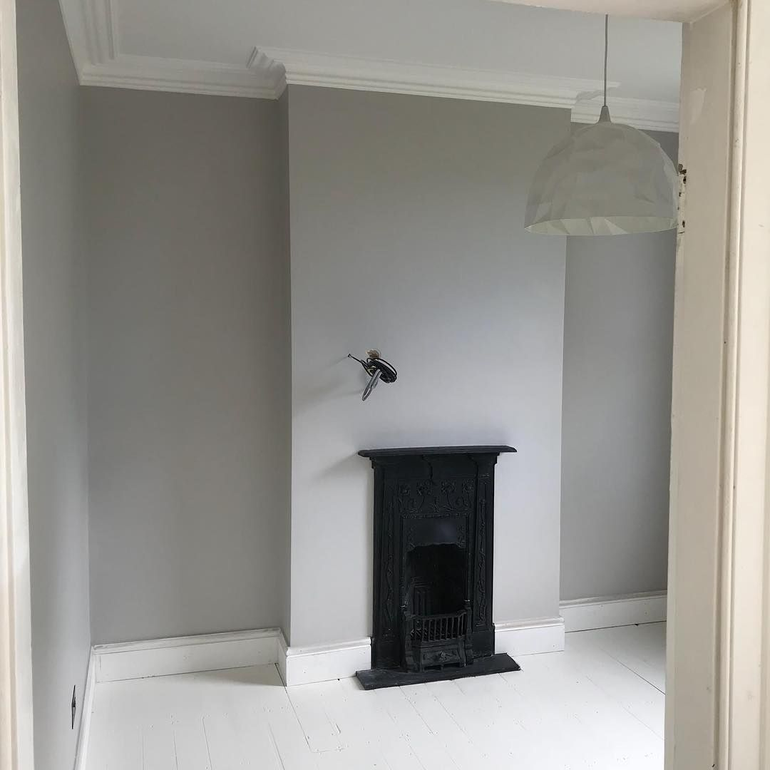 "The Allens on Instagram: ""Farrow and Ball's Cornforth White has gone up in the little ones room. My friends house is top to toe this colour and there's not a single…"""