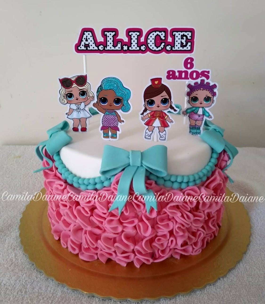 Lol Surprise Dolls Birthday Cake Lol Surprise Party Ideas In 2019
