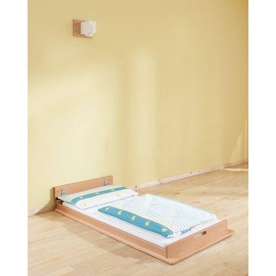 Wandklappbett betten schlafraum polster ruheraum m bel raumgestaltung krippe - Wandklappbett selber bauen ...