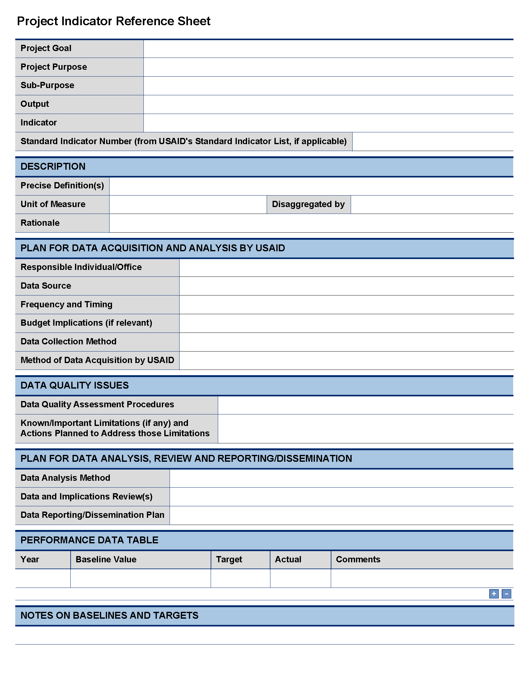 Project Worksheet Template Free And Project Plan Template