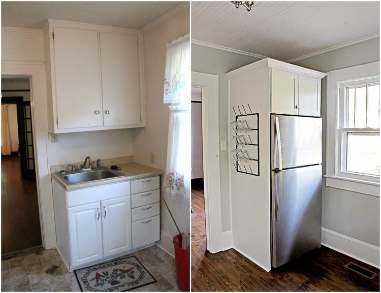 House Flipping Before and Afters - Budget Kitchen Renovation, Cheap - Kitchen Renovation On A Budget
