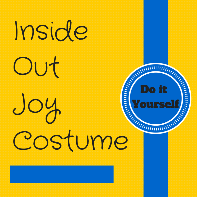 Disney has done it again with its newest animated movie featuring the five different emotions: Inside Out. Create your own Inside Out Joy costume