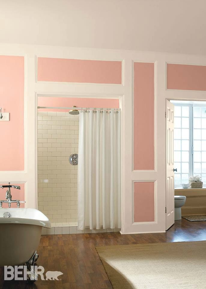 This Elegant Sunkissed Apricot Behr Paint Color Will Bring