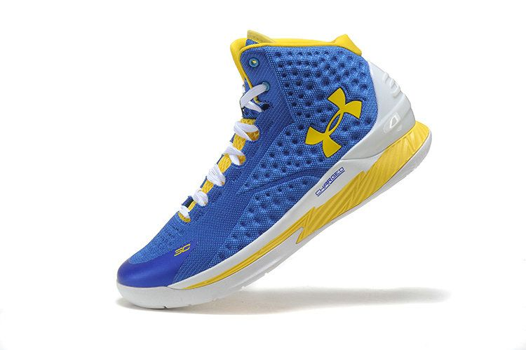 Free Shipping Only 69$ Under Armour UA Curry One 1 Home Away Photo Blue  White