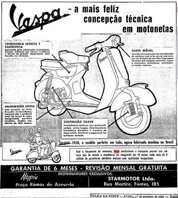 História da Vespa no Brasil Parte 2 | Motoneta Floripa