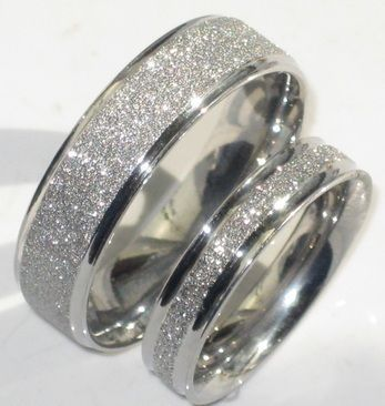 Add Sparkle With A Sandblast Or Stardust Effect To Your Wedding Rings Great Value That S Er Than Diamonds
