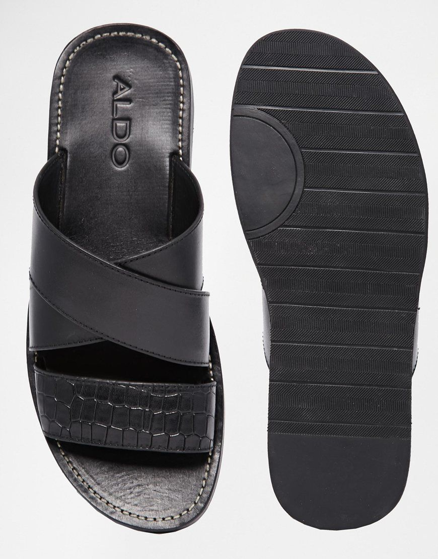 a127174b3 Image 3 of ALDO Rauser Leather Sandals