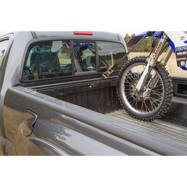 Black Widow Motorcycle Tie Down Rack For Pickups Moto