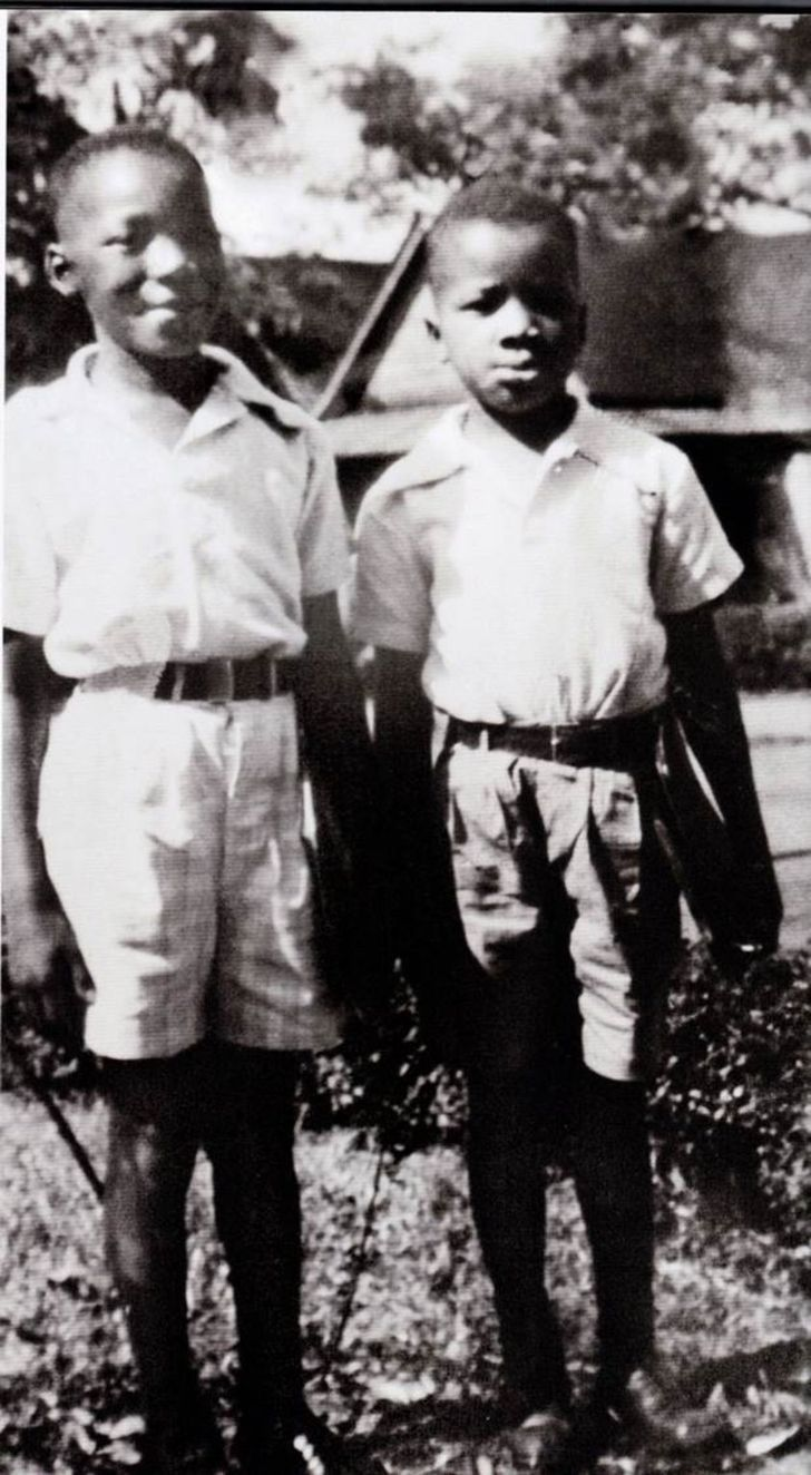 Two Young Kings Martin Luther King Jr And His Younger Brother