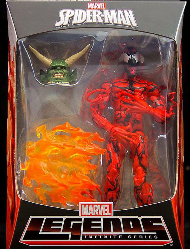 Marvel Legends Spider-Man Carnage Action Figure BAF Green Goblin NEW