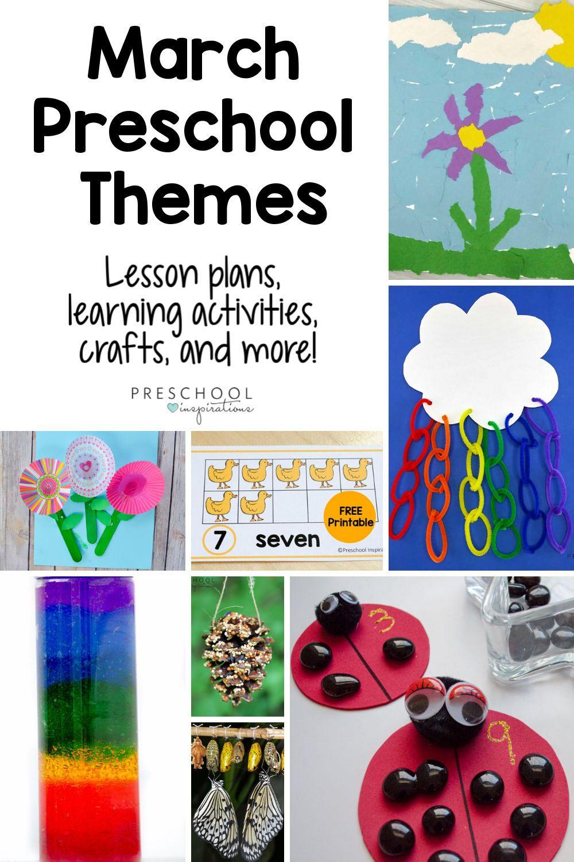 March Preschool Themes Spring Preschool Activities Preschool Themes Preschool Art Activities [ 1500 x 1000 Pixel ]