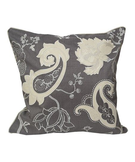 How To Wash Throw Pillows Without Removable Cover This Comfy Throw Pillow's Floral Motif Complements Your Home Décor