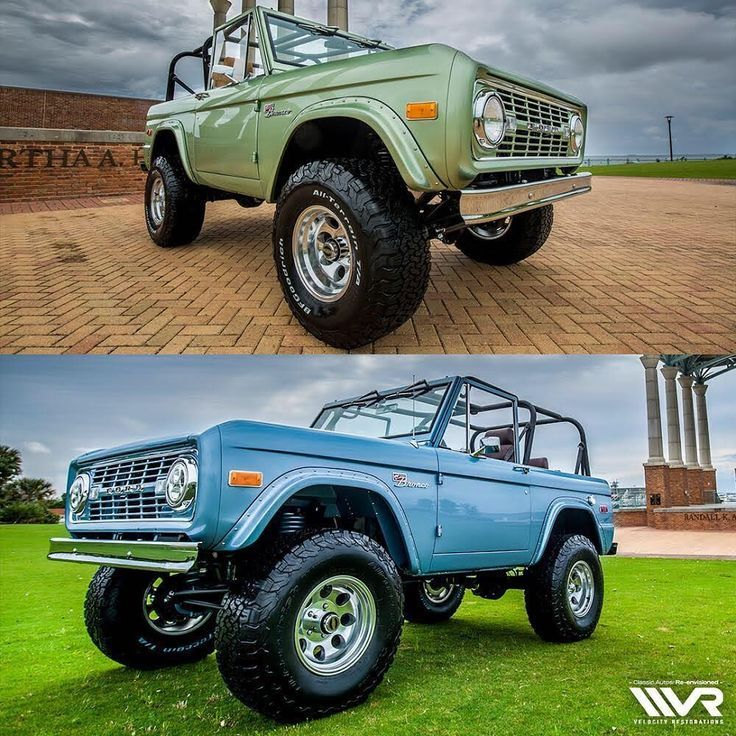 Ford Bronco, Classic Ford Broncos